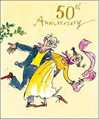 50 wedding anniversary 50th wedding anniversary card co uk kitchen home