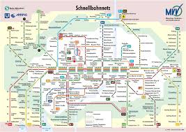 Munich Germany Map by Muenchen Schnellbahnnetz Eisenbahn Metrosysteme Pinterest