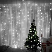 Jml Door Curtain by Amazon Com Decalgalore String Lights 304 Leds Icicle Window