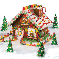 high voltage christmas gingerbread house wilton