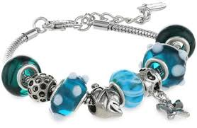 murano bracelet charms images Charmed feelings murano style glass beads and charm bracelet jpg