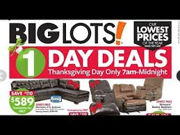 Furniture Sale Thanksgiving Big Lots 2017 Black Friday Ad Preview Toys Furniture And White