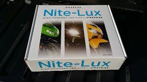 Putco Lights Putco Led Nite Lux Headlight Bulbs And Sylvania Dome Lights
