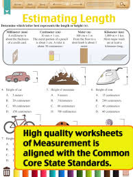 kids math metric measurement worksheets grade 4 by shixian li