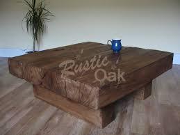 30 best square oak coffee tables