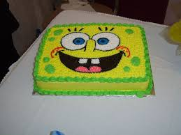 spongebob cakes u2013 decoration ideas little birthday cakes