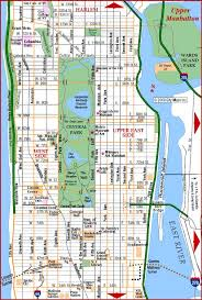 map of nyc streets map of new york city manhattan major tourist