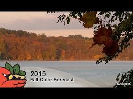 2015 ohio fall color forecast