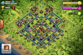 big clash of clans base top players of clash of clans teehunter com