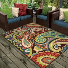 Indoor Outdoor Patio Rugs by 1843 5x8 Orian Rugs 1843 5x8 Indoor Outdoor Scroll Hastings
