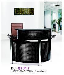 Black Reception Desk Deluxe Black Small Salon Reception Desk Buy Small Reception Desk