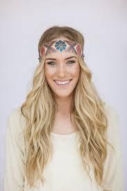 boho headband 142 best feather headband wide chiffon bohemian hippie images on