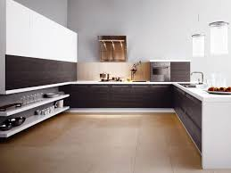 Kitchen Cabinets  Wonderful White Brown Wood Stainless Unique - Simple kitchens