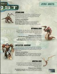 images from a starcraft ghost blizzcon 2005 pamphlet put online