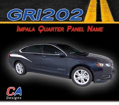 2005 nissan altima rear quarter panel 2014 2015 chevy impala quarter panel name accent vinyl graphic