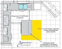 largeur cuisine largeur meuble cuisine croquis profondeur meuble cuisine ikea avec