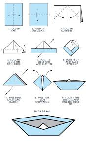 origami boat template tutorial origami handmade