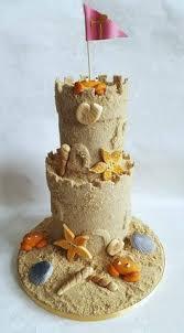 sandcastle birthday cake sand pinterest birthday cakes