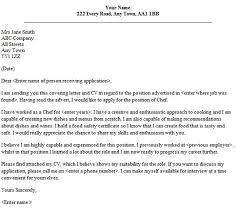 lsg sky chef cover letter