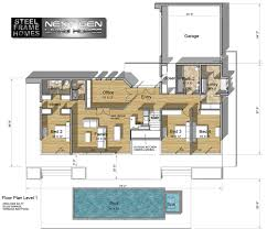 million dollar homes floor plans two story modern glass home design next generation living homes