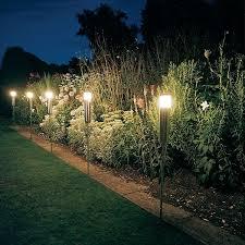 Backyard Lighting Pinterest Gorgeous Outside Electric Garden Lights 25 Best Ideas About