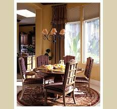 bay window treatments dining room traditional with farmhouse