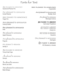 wedding invitations font 1000 fonts to choose from at our gallery for your wedding