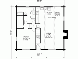 1 Bedroom Cabin Floor Plans Eplans Cabin House Plan One Bedroom Cabin 1673 Square Feet And