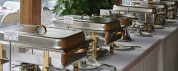 how to set a buffet table with chafing dishes cooking cheflink