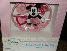 Disney Minnie Mouse 8 Piece Crib Bedding Set Crib Mobile Minnie Mouse Creative Ideas Of Baby Cribs