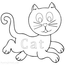 cat coloring pages images cute cat coloring pages printable coloring pages for kids
