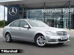used mercedes benz c class executive se for sale motors co uk