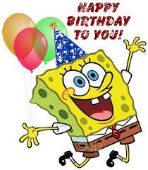 sponge bob birthday ecards