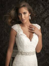 allure lace applique on cap sleeve wedding dress it u0027s all about