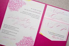 Pink Wedding Invitations Jenny Shawn U0027s Wedding Wedding Invitation Suite Paper