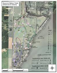 Wisconsin State Parks Map by Area Trails Madnorski