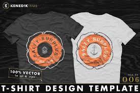 t shirt design template 006 objects creative market