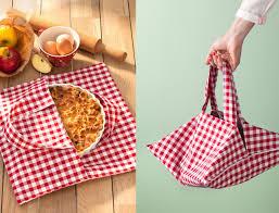 couture accessoire cuisine comment fabriquer un sac à tarte tuto diy accessoires