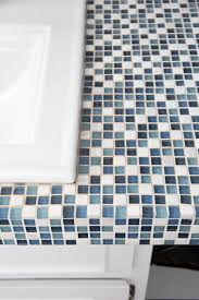 How To Paint Bathroom Tile How To Paint Tile Countertops And Our Modern Bathroom Reveal