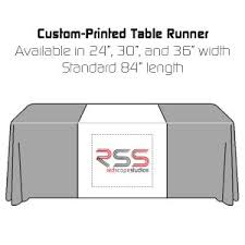 trade show table runner trade show prints sugar land printing