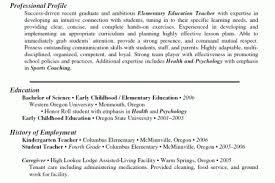 Kindergarten Teacher Resume Example by Preschool Teacher Resume Objective Preschool Teacher Resume