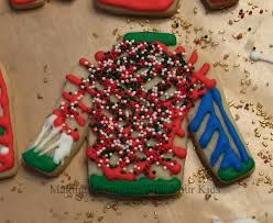 ugly christmas sweater cookies making memories with your kids
