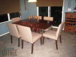 Dining Room Tile by Dining Room Upholstered Duncan Phyfe Dining Chairs With Dark Wood