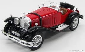 mercedes ssk burago 3009 scale 1 18 mercedes ssk 1928 black