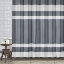 Gray Fabric Shower Curtain Grey Shower Curtains Shop The Best Deals For Nov 2017