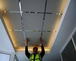 faux plafond cuisine professionnelle faux plafonds plafond et cloison en platre rénovation bruxelles