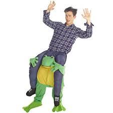 Piggyback Halloween Costume Unisex Frog Fancy Dress Piggyback Costume Stuff