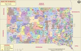 map south dakota south dakota zip code map south dakota postal code