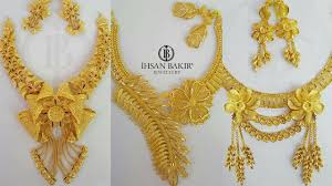 necklace gold jewelry images Bridal gold jewellery necklaces designs latest designer necklace jpg