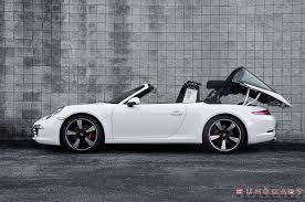 targa porsche 4s 2015 porsche 911 targa shines on 50th anniversary editions fuchs